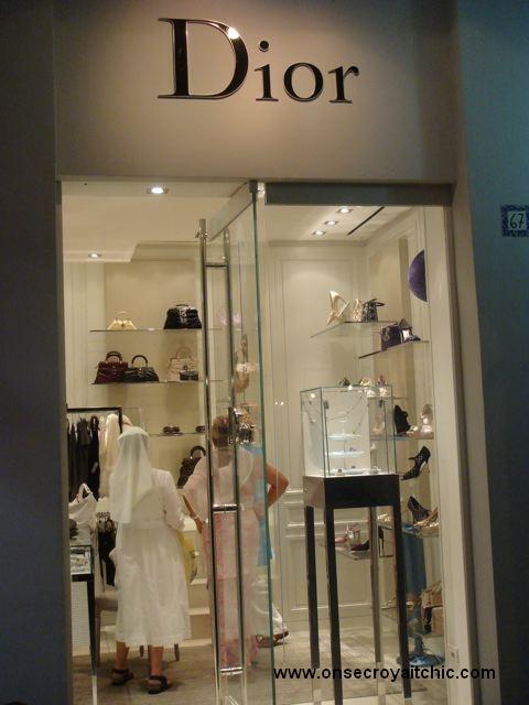 une soeur chez Dior