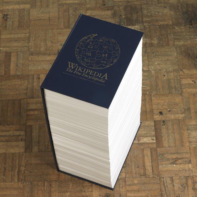 Livre wikipedia imprimé