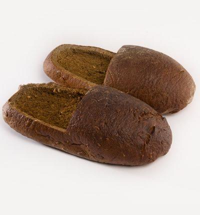 chaussure en pain