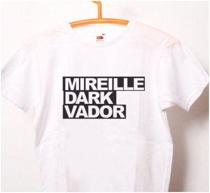 Tee shirt Mireille Dark Vador
