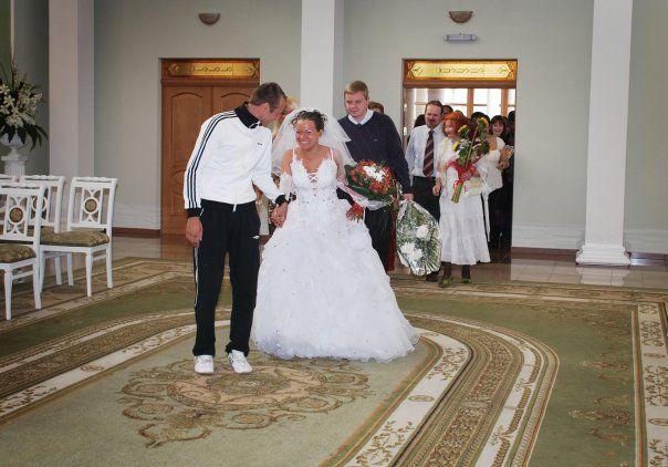 Mariage en survêtement