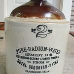 eau radioactive