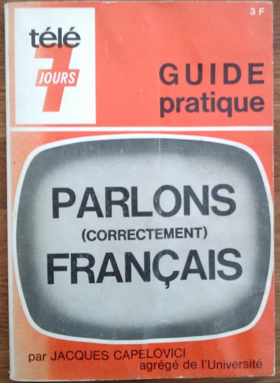 Télé 7 jours parlons correctement français