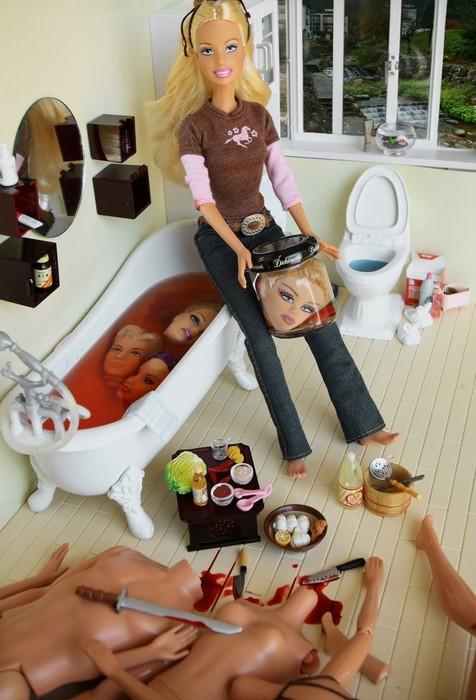 la poupée de Dexter