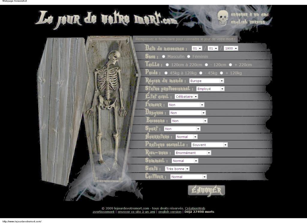 Le Jour De Votre Mort
