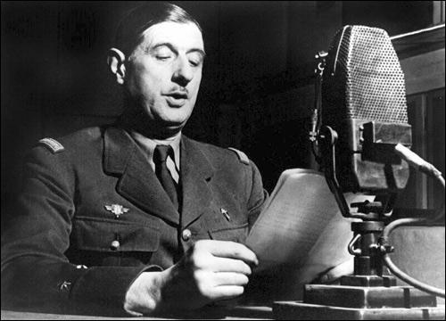 De Gaulle micro
