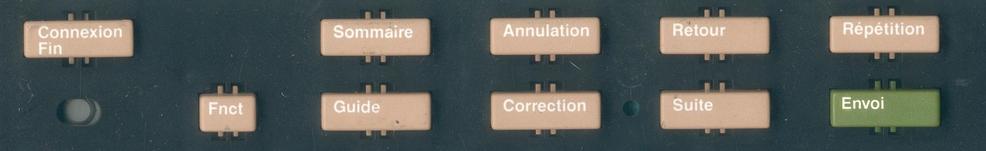 clavier minitel