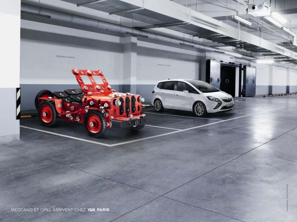 Meccano voiture Opel