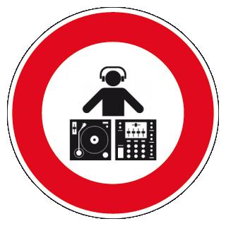 interdit aux dj