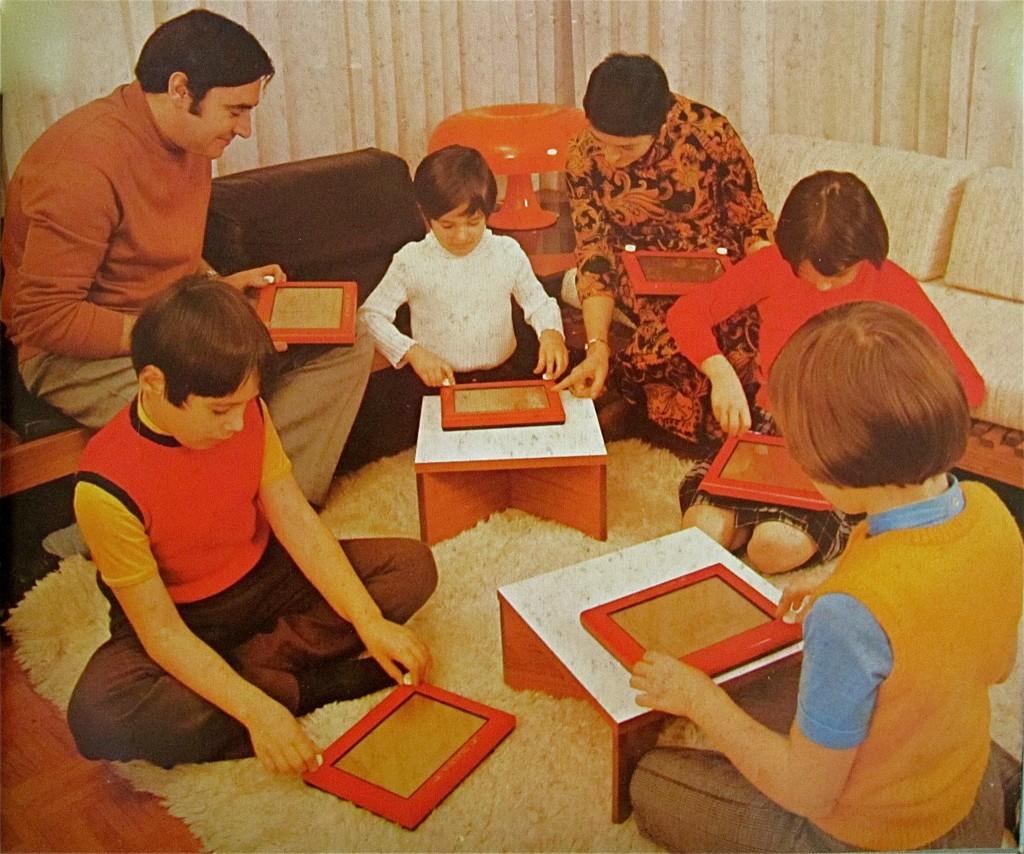 Télécran 1974 publicité