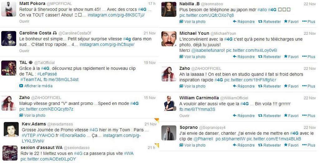 Twitter stars #4g