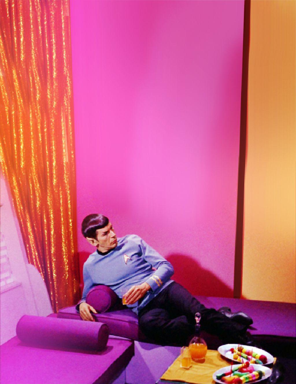Star Trek Monsieur Spock se relax