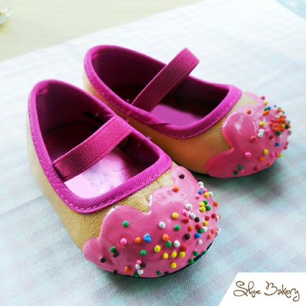 chaussures en forme de gâteaux (2)