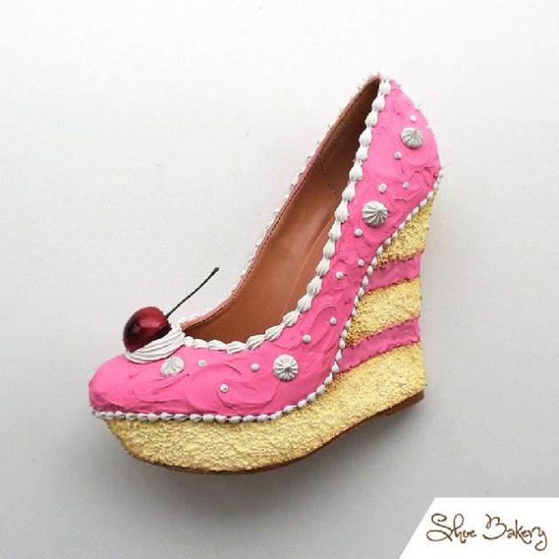 chaussures en forme de gâteaux (3)
