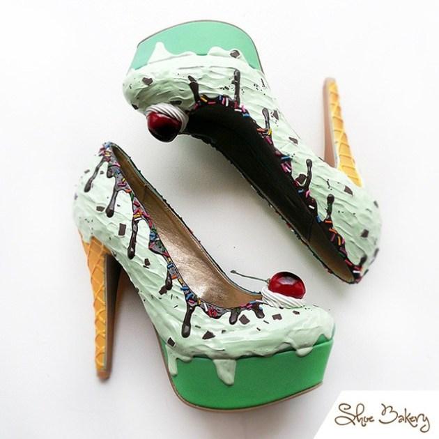 chaussures en forme de gâteaux (4)