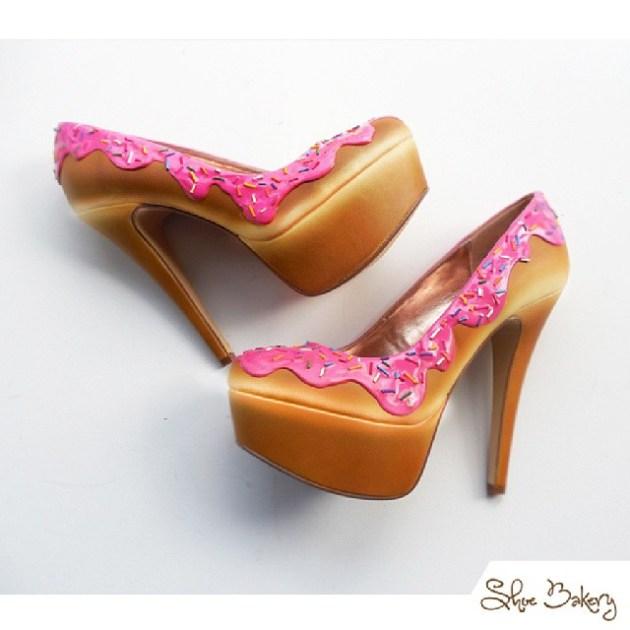 chaussures en forme de gâteaux (5)